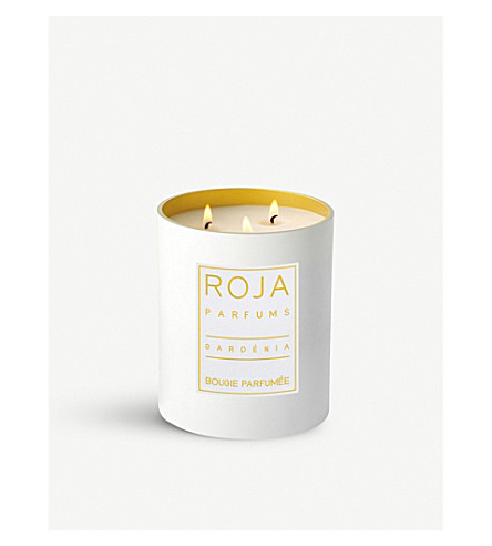 ROJA PARFUMS Gardenia large scented candle 760g