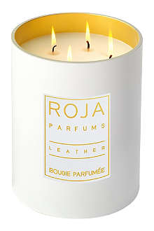 ROJA PARFUMS Leather large candle