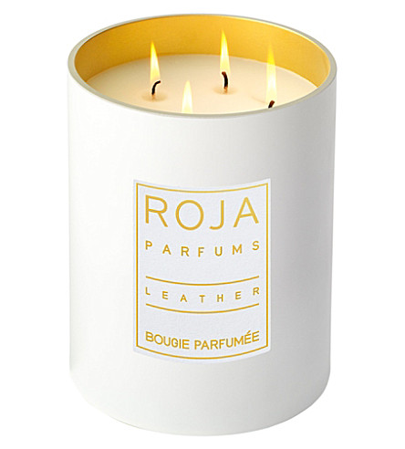 ROJA PARFUMS Leather large candle 2.2kg
