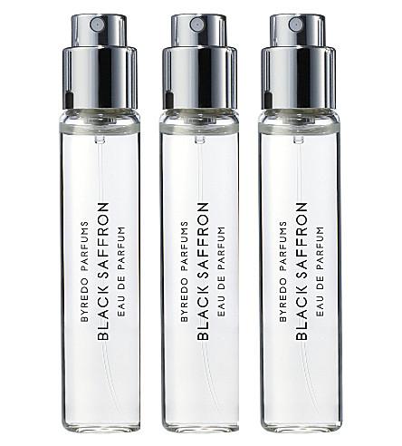 BYREDO Black Saffron eau de parfum 3 x 12ml