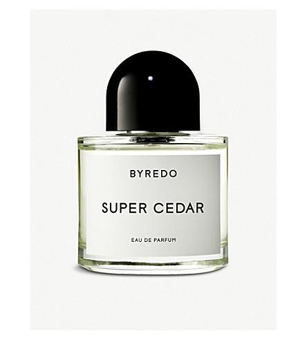 BYREDO Super Cedar eau de parfum 100ml