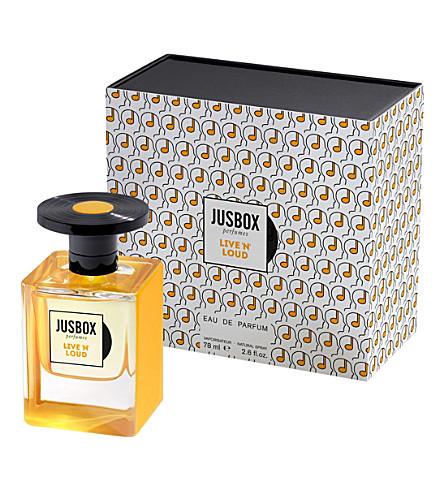 JUSBOX Live 'N' Loud eau de parfum 78ml