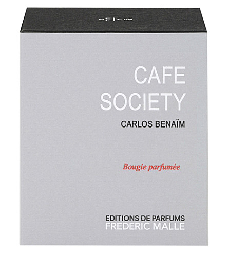 FREDERIC MALLE Cafe Society scented candle 220g