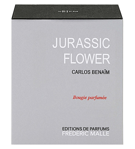 FREDERIC MALLE Jurassic Flower scented candle 220g