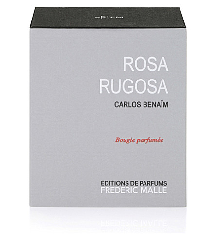 FREDERIC MALLE Rosa Rugosa scented candle 220g