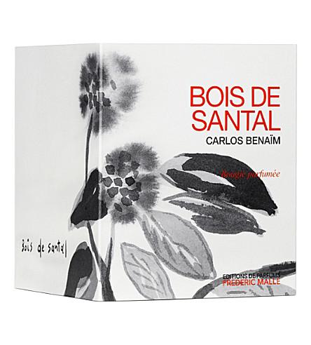 FREDERIC MALLE Carlos Benaïm bois de santal scented candle