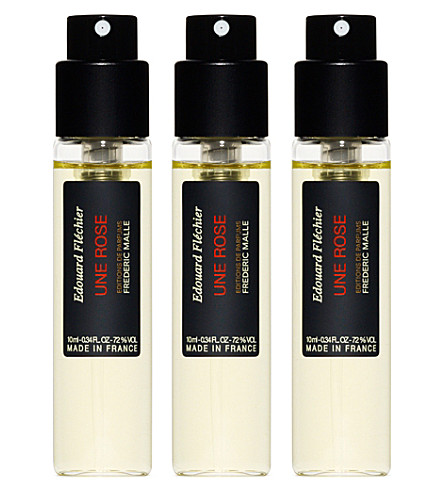 FREDERIC MALLE Une Rose parfum 3 x 10ml spray