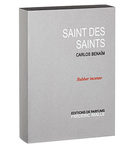 FREDERIC MALLE Saint des Saints rubber incense