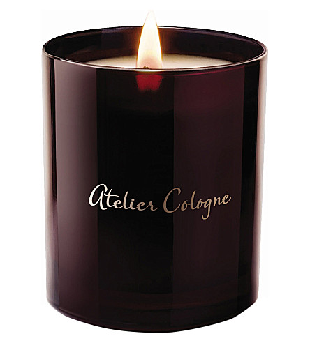 ATELIER COLOGNE Orange sanguine scented candle 190g