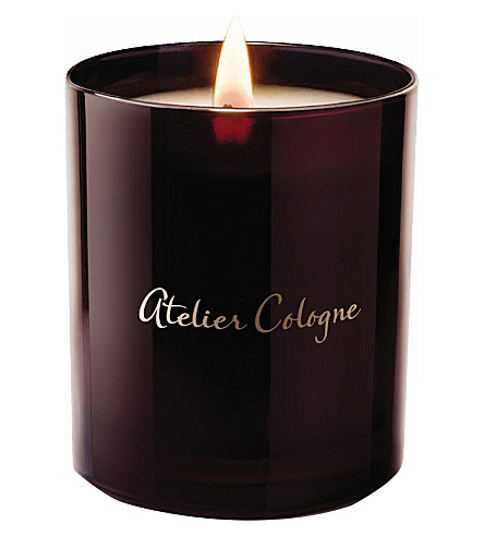 ATELIER COLOGNE Ambre Nue scented candle 190g