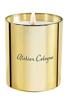 ATELIER COLOGNE Gold Leather scented candle