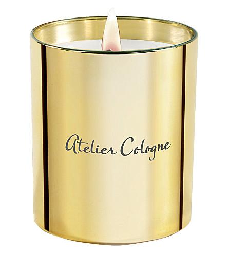 工作室 COLOGNE 黄金皮革香薰蜡烛 190 g