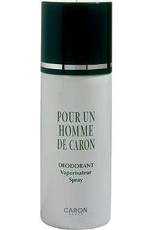 CARON Pour Un Homme de Caron deodorant spray 200ml