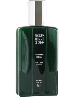 CARON Pour Un Homme de Caron hair and body shampoo 200ml