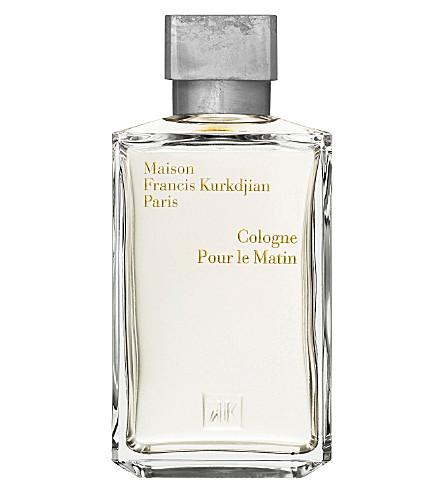 MAISON FRANCIS KURKDJIAN Pour le Matin eau de cologne 200ml