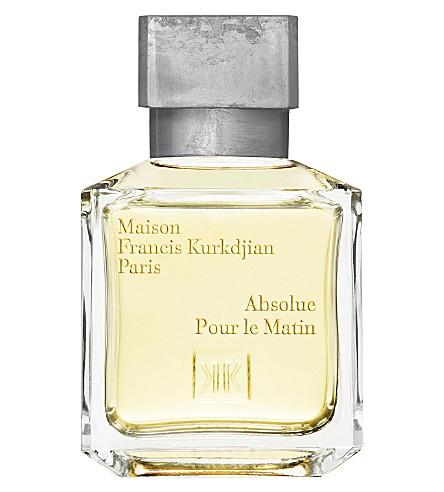 MAISON FRANCIS KURKDJIAN Absolue Pour le Matin eau de parfum 70ml