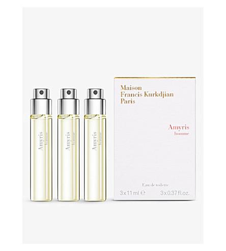 MAISON FRANCIS KURKDJIAN Amyris homme eau de parfum refills 3 x 11ml