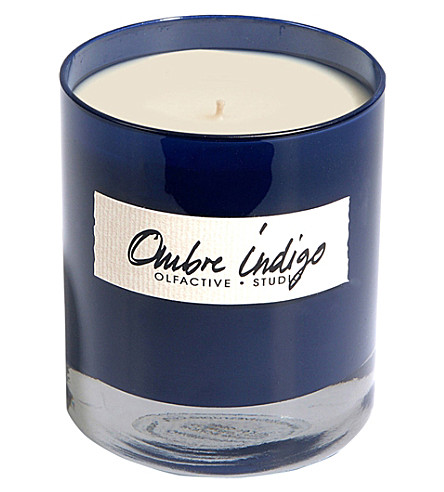 OLFACTIVE STUDIO Ombre Indigo scented candle 300g