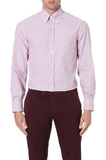 BRUNELLO CUCINELLI Fitted cotton shirt