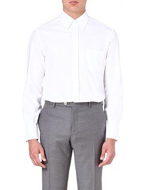 BRUNELLO CUCINELLI Oxford pocket shirt