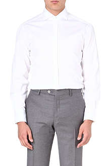 BRUNELLO CUCINELLI Striped slim-fit shirt
