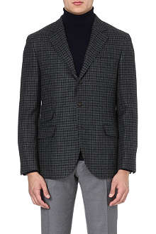 BRUNELLO CUCINELLI Single-breasted cashmere jacket