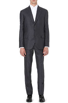 BRUNELLO CUCINELLI Cashmere and silk slim-fit suit