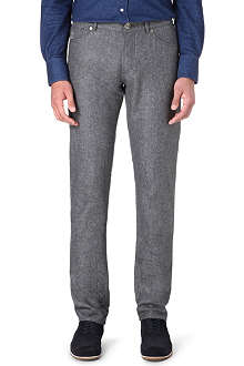 BRUNELLO CUCINELLI Tapered wool trousers