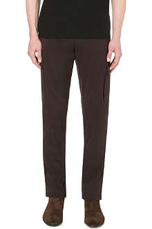 BRUNELLO CUCINELLI Straight cotton cargo trousers