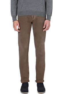 BRUNELLO CUCINELLI Slim-fit straight denim jeans