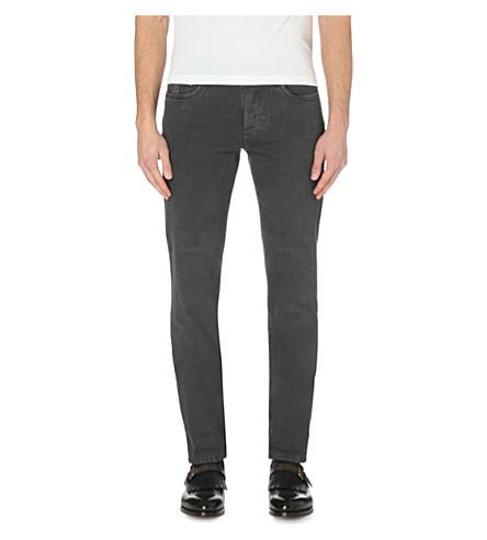 BRUNELLO CUCINELLI Slim mid-rise jeans (Lead