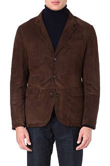 BRUNELLO CUCINELLI Tailored suede jacket