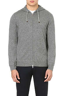 BRUNELLO CUCINELLI Cashmere zip-through hoody