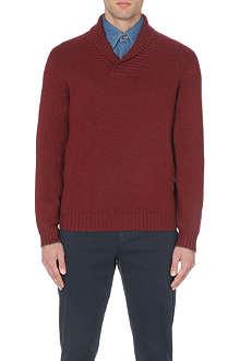 BRUNELLO CUCINELLI Long-sleeved cashmere jumper