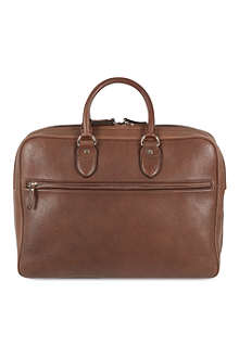 BRUNELLO CUCINELLI Soft leather briefcase