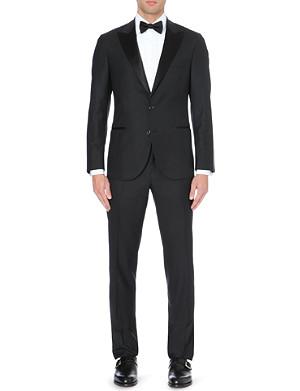 BRUNELLO CUCINELLI Silk-blend tuxedo suit