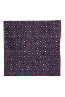 BRUNELLO CUCINELLI Floral pocket square