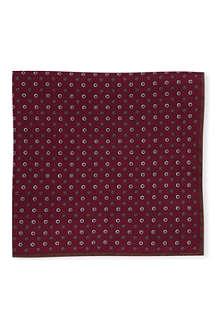 BRUNELLO CUCINELLI Reversible printed pocket square