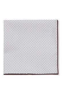 BRUNELLO CUCINELLI Circle print pocket square