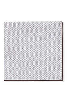 BRUNELLO CUCINELLI Circle print pocket square