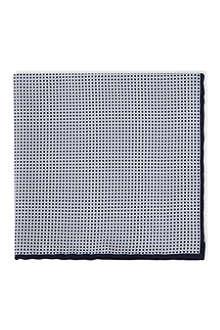 BRUNELLO CUCINELLI Micro square print pocket square
