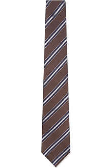 BRUNELLO CUCINELLI Regimental Stripe tie