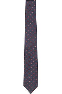 BRUNELLO CUCINELLI Floral print tie