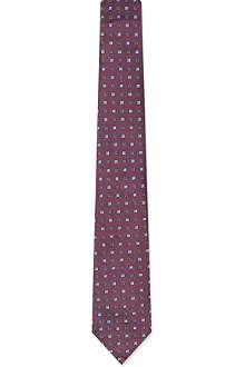 BRUNELLO CUCINELLI Mini squares tie