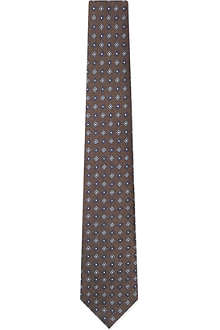 BRUNELLO CUCINELLI Mini diamond print tie