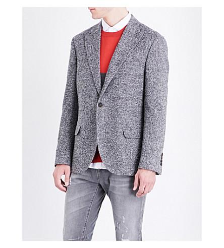 BRUNELLO CUCINELLI Regular-fit bouclé jacket (Grey