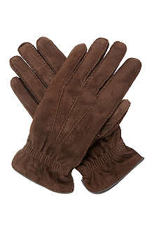 BRUNELLO CUCINELLI Suede gloves