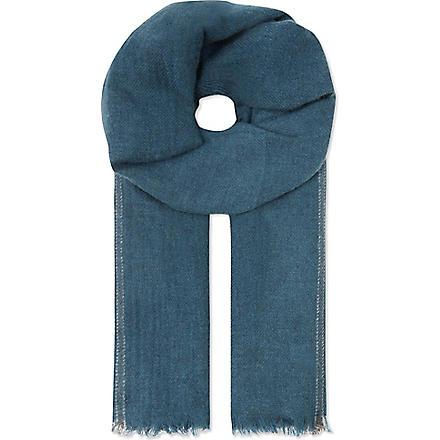 BRUNELLO CUCINELLI Cashmere scarf (Green