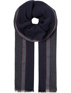BRUNELLO CUCINELLI Cashmere-blend scarf