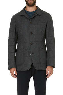 BRUNELLO CUCINELLI Quilted wool-blend jacket